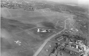 1958 Aerial View of RAF Kenley