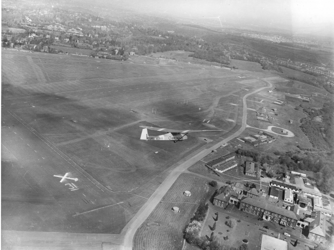 1958 Aerial View of RAF Kenley. | Keith Chandler