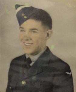 Flying Officer Junius Lyman Edward Hokan