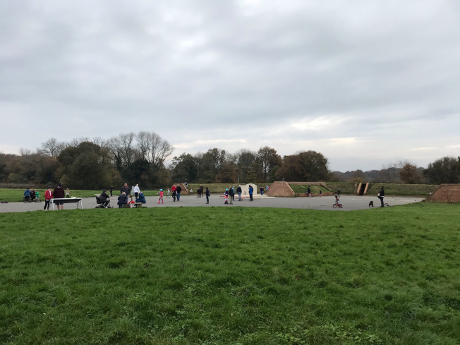 Lots of families enjoying Kenley Common today....it would have been a very different scene 80 years ago.. | Linda Duffield