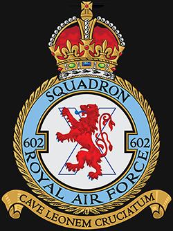 602 (City of Glasgow) Squadron badge.