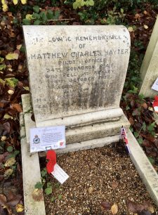 Pilot Officer Matthew Charles Hayter
