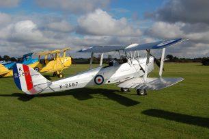 De Havilland Tiger Moth G-MOTH/K2567 (similar to the one that 'Al' Deere took Cedric for a flight in ) Old Warden, Beds.,13/10/12. | Alec Wilson