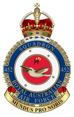 The badge of No.452 (R.A.A.F.) Squadron.