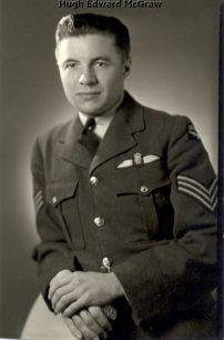 Pilot Officer Hugh Edward McGraw