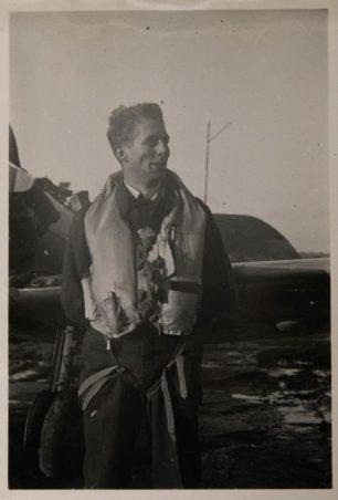 'Chad' Chadburn at RAF Redhill in December 1942.  | F/Lt. Edward Lefferts 'Doc' Thorne