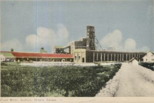 Frood mine, Sudbury, Ontario, where John Clarke Fee worked as a labourer in his summer holidays.