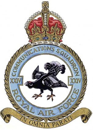 The badge of No.24 Squadron.