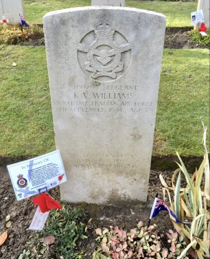 The grave of Sgt. Williams in St. Luke's churchyard, Whyteleafe.  | Linda Duffield