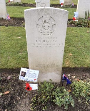 Sgt. Hanigan's grave in St. Luke's churchyard, Whyteleafe. | Linda Duffield