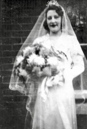 Doris on her wedding day. | Melynda Jarratt
