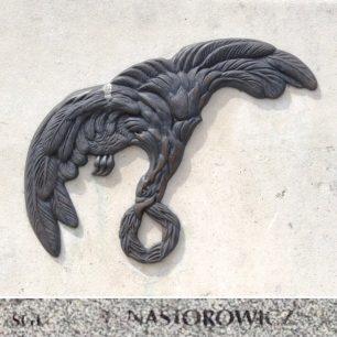Sgt. Nastorowicz remembered on the Polish War Memorial, Northolt.  | Linda Duffield