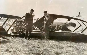 The Crash of Gloster Gauntlet Mk.II, K5359, coded UV-B