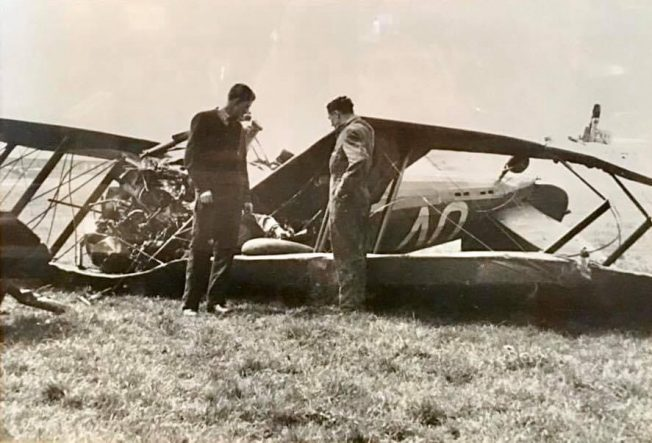 The crash of Gauntlet K5359, 8/5/1939. | The Wattenden Arms