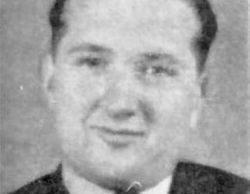 Flight Sergeant André Paul François Vilboux