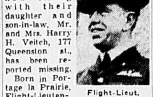 Flight Lieutenant Harry Thomas James Anderson