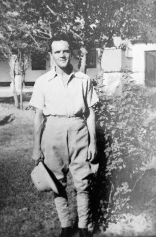 Edward George Alford in India before the War.  | ©️Frances Elizabeth Alford
