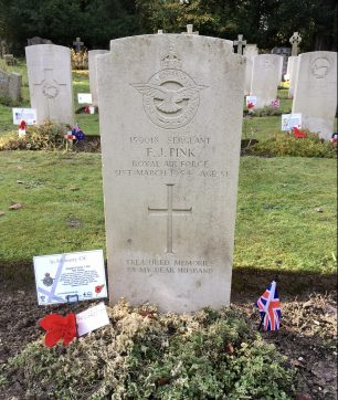 The grave of Sgt. Pink in St. Luke's churchyard, Whyteleafe.  | Linda Duffield