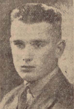 Squadron Leader Eric George Rogers   The Birmingam Mail 4/7/1940