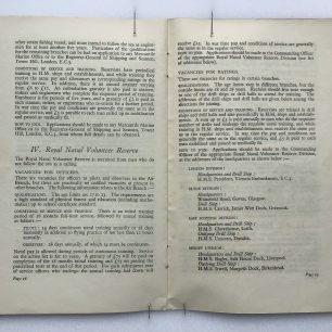 'National Service' Booklet - 1939, (page 28-29) | Robin Grainger