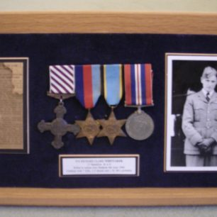 Whittaker's medals were auctioned in September, 2000, and are now owned by the Society of Old Framlinghamians and displayed in the Head's study.  | Society of Old Framlinghamians