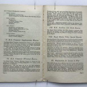 'National Service' Booklet - 1939, (page 30-31) | Robin Grainger