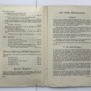 'National Service' Booklet - 1939, (page 12-13) | Robin Grainger