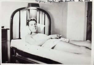 Horace in hospital in Torquay after Dunkirk, July 1940.  | ©️Terry Horne