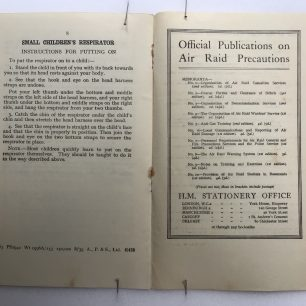 Anti-Gas Protection of Babies and Young Children' leaflet, 1939. Page 8.  | Robin Grainger