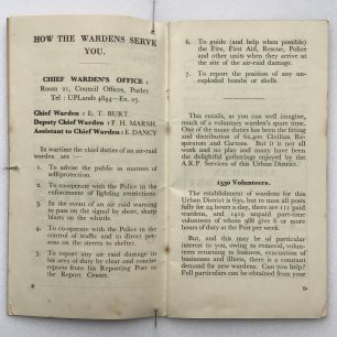A.R.P. Handbook, (Coulsdon and Purley). Page 8-9.    Robin Grainger