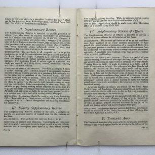 'National Service' Booklet - 1939, (page 34-35) | Robin Grainger