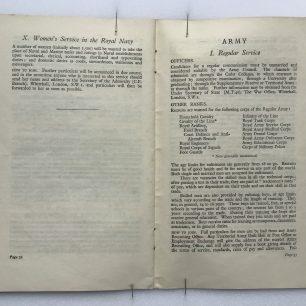 'National Service' Booklet - 1939, (page 32-33). | Robin Grainger