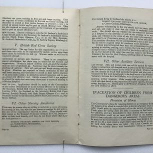 'National Service' Booklet - 1939, (Page 22-23)  | Robin Grainger