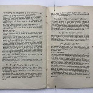 'National Service' Booklet - 1939, (page 42-43) | Robin Grainger