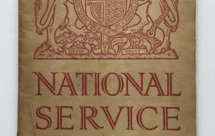 National Service Booklet - 1939