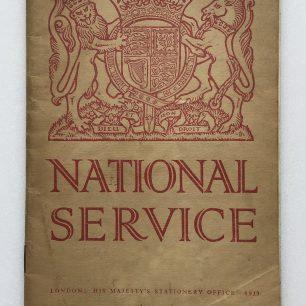 'National Service' Booklet - 1939, (Front cover) | Robin Grainger