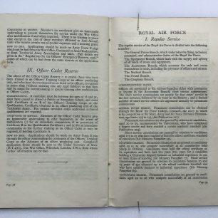 'National Service' Booklet - 1939, (page 38-39)  | Robin Grainger