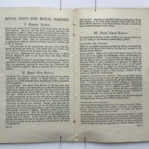 'National Service' Booklet - 1939, (Page 26-27) | Robin Grainger