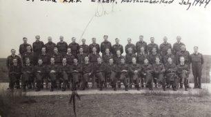 No.57 OTU, Eshott, Northumberland, July 1944.  | ©️Terry Horne