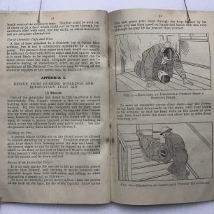 'The Fire Guards Handbook' - 1942, (Page 31-32) | Robin Grainger