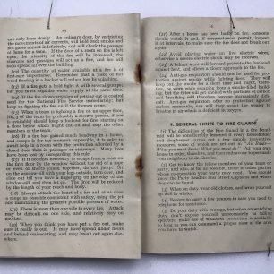 'The Fire Guards Handbook' - 1942, (Page 25-26) | Robin Grainger