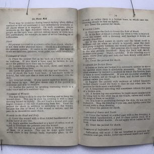 'The Fire Guards Handbook' - 1942, (Page 33-34) | Robin Grainger
