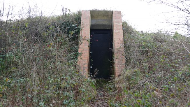 Blast Pen 5 Rear Doorway from January 2021. | Neil Broughton