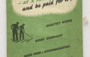 'Lend a Hand on the Land' Leaflet