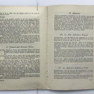 'National Service' Booklet - 1939, (page 20-21) | Robin Grainger
