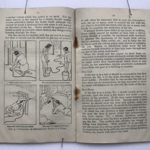 'The Fire Guards Handbook' - 1942, (Page 17-18) | Robin Grainger