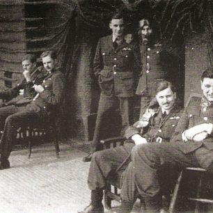 Richard Clare Whittaker on the right taken during the year before he was killed in action.  | Society of Old Framlinghamians