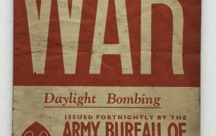 'War' Army Bureau of Current Affairs Leaflet on Daylight Bombing - October 2nd, 1943