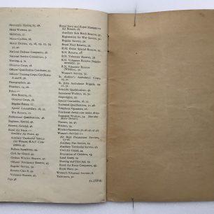 'National Service' Booklet - 1939, (page 48) | Robin Grainger