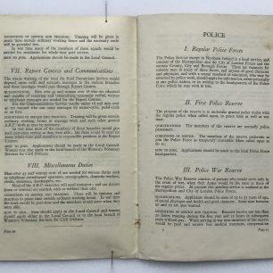 'National Service' Booklet - 1939, (page 16-17) | Robin Grainger
